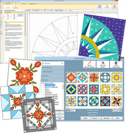 EQ8 Quilt Design Software from Electric Quilt, UKQuilt Drawing Program