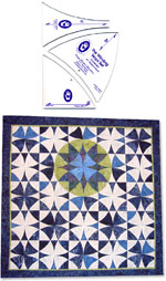 Free Quilt Patterns: Sochi: The Principle of the Patchwork