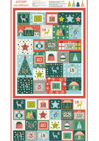 Makower Christmas Fabric Panels
