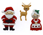 Christmas Buttons & Accessories